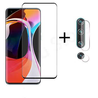 Недорогие Защитные плёнки для экранов Xiaomi-1шт / 2шт / 3шт 2-в-1 3d закаленное стекло для xiaomi xiomi mi 10 mi10 pro mi note 10 pro Защитная пленка для объектива камеры стекло для xiaomi note 10 mi 10 mi10 pro