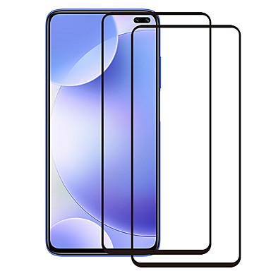 Недорогие Защитные плёнки для экранов Xiaomi-2шт, 9 часов, 2.5d, закаленное стекло, полная защитная пленка для экрана xiaomi redmi k30 / k20 / note 7/8 / 8t / 8 pro / redmi 6 / 6a / 6 pro / 7 / 7a / 8 / 8a / note 7/7 pro / 8 / 8т / 8 про