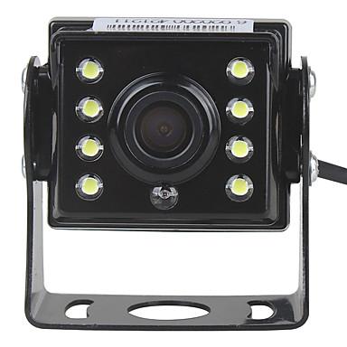 Недорогие Камеры заднего вида для авто-ziqiao 480 телеканалов 720 x 576 ccd проводная 170-градусная водонепроницаемая камера заднего вида / plug and play / ahd для автомобиля / автобуса / грузовика