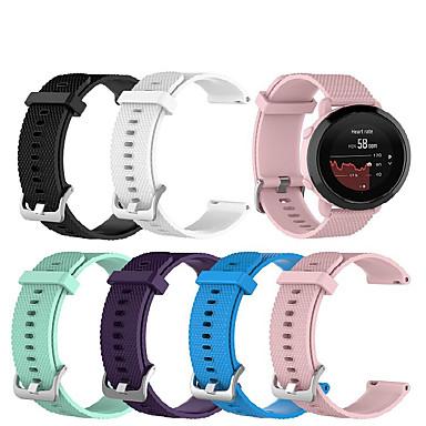 Недорогие Аксессуары для смарт-часов-Ремешок для часов для Suunto 3 Fitnes Suunto Спортивный ремешок силиконовый Повязка на запястье