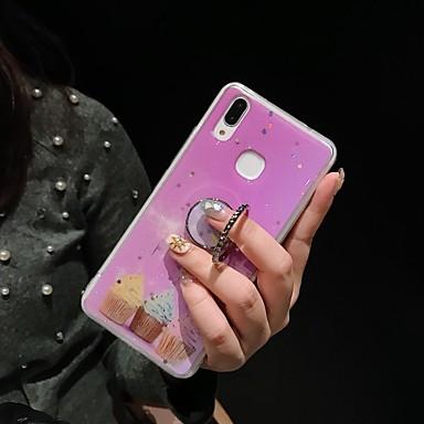 Недорогие Чехол Samsung-чехол для samsung galaxy note 10 note 10 pro note 9 note 8 s20 s20 plus s20 ultra s10 s10e s10 plus s10 5g с рисунком подставки задняя крышка декорации цветок животных тпу