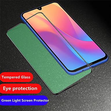 Недорогие Защитные плёнки для экранов Xiaomi-защитная пленка для зеленого экрана xiaomi redmi note 8 / note 8 pro / 8 / 8a / note 7 / note 7 pro / 7 пленка из закаленного стекла с защитной пленкой для экрана высокой четкости (hd) / твердость 9 ч