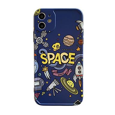 Недорогие Кейсы для iPhone-чехол для яблока iphone 11 / pro11promax / x / xs / xr / xsmax / 8p / 8 / 7p / 7 / se (2020) обложка тпу небо слово / фраза мягкая оболочка комплект чехла для iphone
