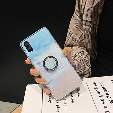 Недорогие Чехол Samsung-чехол для samsung galaxy s9 s9 plus s8 s8 plus a80 a90 a70 a70s a60 a50 a50s a30s с рисунком подставки задняя крышка цветовой градиент tpu