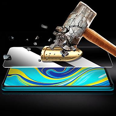 Недорогие Защитные плёнки для экранов Xiaomi-защитный экран для xiaomi redmi note 9s / note 9 pro / note 9 pro max с высоким разрешением (hd) / 9h закаленное стекло
