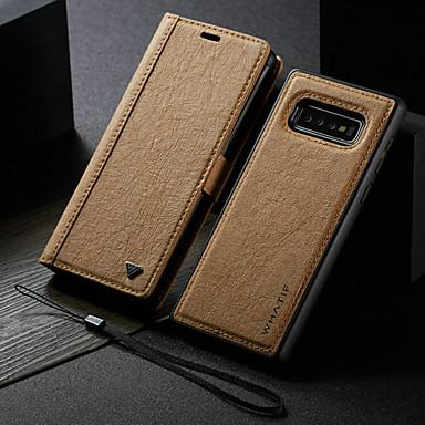 Недорогие Кейсы для iPhone-новый водонепроницаемый крафт-бумага магнитный кожаный флип чехол для iphone 11/11 pro / 11 pro max слот для карты слот для карт памяти съемный чехол для iphone / xr / xs max / 8 plus / 7 plus / 6