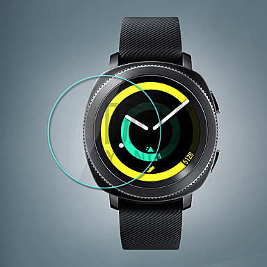 Недорогие Аксессуары для смарт-часов-Screen Protector forGear Sport Закаленное стекло HD 1 ед.