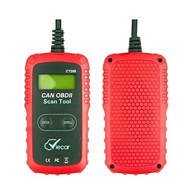 Недорогие OBD-obd2 cy300 диагностический инструмент vc300 считыватель кодов obd obd2 диагностика автомобиля сканер поддержка sae j1850 pk elm327 scantool