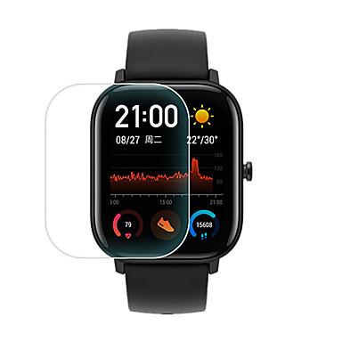 levne Ochranné fólie na chytré hodinky-3ks pro amazfit gts tvrzené sklo chránič obrazovky tvrdost 9h