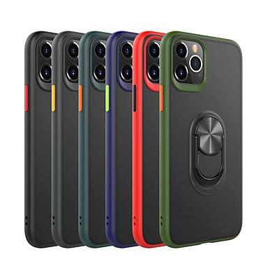 Недорогие Кейсы для iPhone-чехол для apple iphone 2020 se / 11/11 pro / 11 pro max / x / xs / xr / xs max / 8p / 8 / 7p / 7 противоударный / держатель кольца / матовая задняя крышка