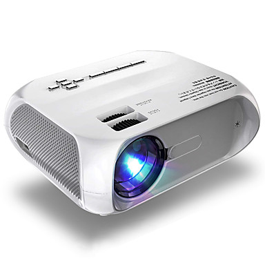 voordelige Audio/Video-accessoires-litbest s5 led projector rood-blauw 3d 1280x720 pixels 4800 lumen hdmi vga usb draagbare cinema proyector beamer