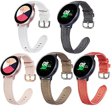 Недорогие Часы для Samsung-ремешок для часов vivoactive 3 / часы samsung galaxy 46 мм / часы samsung galaxy 42 мм спортивный браслет samsung galaxy / классическая пряжка / ремешок для бизнеса из натуральной кожи ремешок на