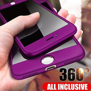 Недорогие Кейсы для iPhone-360 градусов полный чехол для телефона iphone se 2020/11/11 pro 11pro max / x / xs / xr / xs max pc жесткий чехол защитный чехол для iphone 8plus / 8/7 plus / 7 / 6plus / 6 чехол