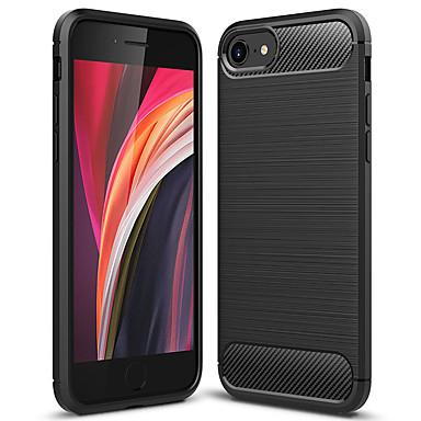 Недорогие Кейсы для iPhone-чехол для телефона asling для Apple iPhone 7/8 / Iphone SE (2020) пылезащитный задняя крышка сплошного цвета ТПУ