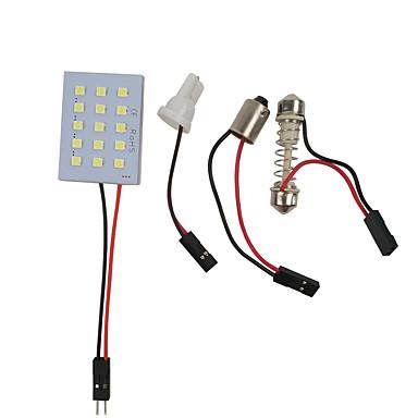 Недорогие Освещение салона авто-otolampara 1шт 31мм / 41мм / 36мм автомобильные лампочки 7,5 Вт smd 3030 600 лм 15 светодиодные внутреннее освещение для универсальных всех моделей все годы