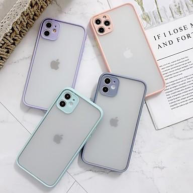 Недорогие Кейсы для iPhone-Прозрачный чехол для ПК Apple Iphone 11 Pro Макс X XR XS Макс 8 плюс 7 плюс 6 плюс SE многоцветный конфеты задняя крышка