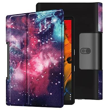 Недорогие Чехлы и кейсы для Lenovo-чехол для lenovo yoga smart tab yt-x705f противоударный / с подставкой / откидной крышкой для всего тела Млечный путь кожаный чехол для lenovo yoga smart tab yt-x705f