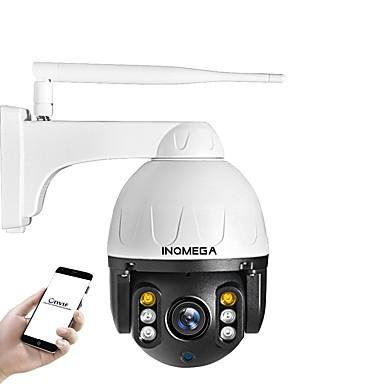 cheap IP Cameras-INQMEGA Cloud 1080P PTZ IP Camera WIFI Auto Tracking 4X Digital Zoom Outdoor Onvif Waterproof Mini Speed Dome Camera 2MP IR 30M P2P CCTV Security Camera