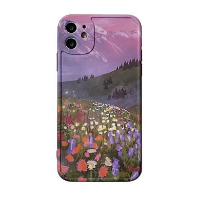 Недорогие Кейсы для iPhone-чехол для яблока iphone 11 / pro11promax / x / xs / xr / xsmax / 8p / 8 / 7p / 7 / se (2020) чехол tpuscenery цветок мягкая оболочка чехол для iphone комплект