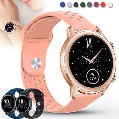 Недорогие Аксессуары для смарт-часов-Ремешок для часов для Huawei Watch 2 / Huawei Watch GT2 42mm / MagicWatch 2 42MM Huawei Спортивный ремешок силиконовый Повязка на запястье