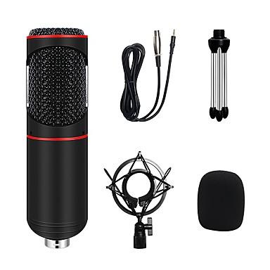 voordelige Audio/Video-accessoires-3.5mm condensatormicrofoon professionele microfone geluidsopname microfoon kit voor computer youtube live karaoke conferentie