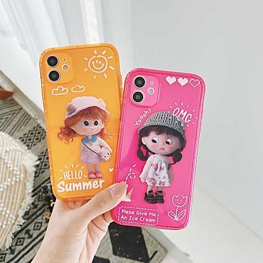 Недорогие Кейсы для iPhone-противоударный чехол для девушки из тпу для apple iphone 11 pro max x xr xs max 8 плюс 7 плюс 6 plus se задняя крышка