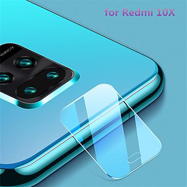 Недорогие Защитные плёнки для экранов Xiaomi-Защитная пленка для экрана Redmi 10x / note9 / 9pro / 9pro max / 10 / 10pro из закаленного стекла Защитная пленка для объектива высокого разрешения (HD) / 9h твердость / взрывозащищенный