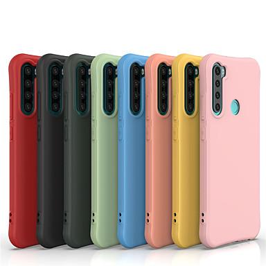 Недорогие Чехлы и кейсы для Xiaomi-чехол для xiaomi 10 redmi note8 8pro простой конфеты цвет тпу материал чехол ультратонкий маленькая талия чехол для мобильного телефона