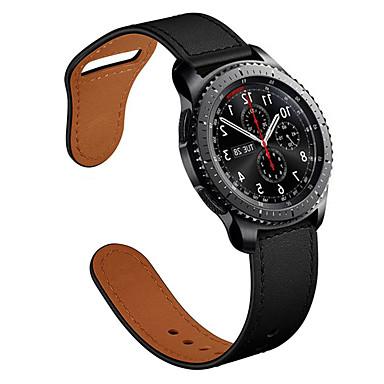 Недорогие Ремешки для часов Huawei-22мм ремешки для часов из натуральной кожи с быстрым выпуском