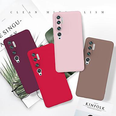 Недорогие Чехлы и кейсы для Xiaomi-Роскошный тонкий мягкий цветной чехол для телефона для Xiaomi Mi CC9Pro / Note 10 / Note 10Pro / CC9 / CC9E / 9t / 9t Pro чехол ТПУ задняя крышка Капа для Xiaomi Redmi Note 8T / K20 / K20 Pro
