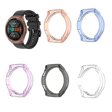 Недорогие Аксессуары для смарт-часов-для Huawei часы GT 2E замена ТПУ защитный чехол чехол прозрачный