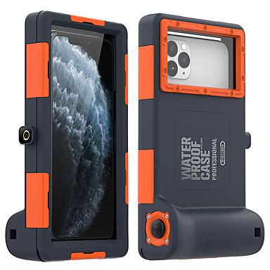 Недорогие Кейсы для iPhone-iphone11pro max водонепроницаемый чехол для мобильного телефона для дайвинга xs max с функцией камеры bluetooth для отправки анти-потерянного ремешка, подходящего для защитного чехла 6 7 8plus se 2020