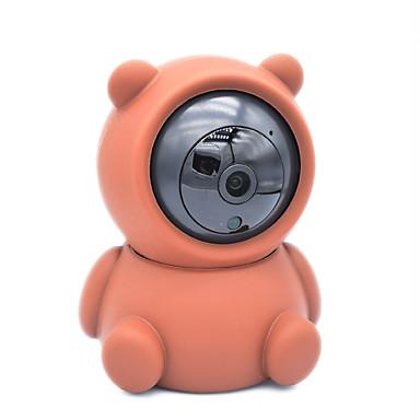 hesapli Akıllı Ev-Yeni kızılötesi akıllı bebek monitörü 1080 p hd kablosuz wifi kamera gece sürüm iki yönlü vocie çağrı hareket algılama destek app görünüm