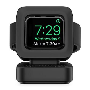 Недорогие Крепления и держатели для Apple Watch-вахта apple all-in-1 / новый дизайн / очаровательная силиконовая кровать / рабочий стол