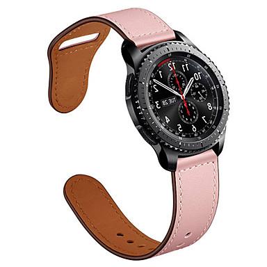 Недорогие Аксессуары для смарт-часов-Ремешок для часов для Ископаемый GEN 5 FOSSIL Классическая застежка / Бизнес группа Натуральная кожа Повязка на запястье