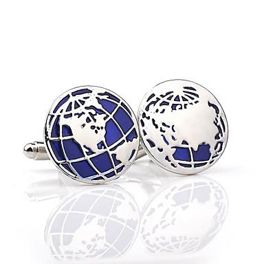 povoljno Muški nakit-Muškarci Mandzsettagombok Moda Broš Jewelry Srebro Za