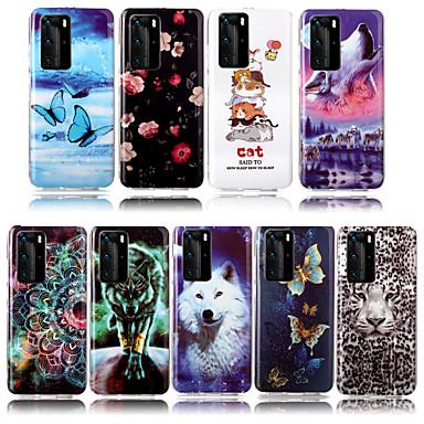 Недорогие Чехлы и кейсы для Xiaomi-Чехол для Xiaomi Redmi Note 8 Redmi Note 8 Pro телефон чехол ТПУ материал окрашенный рисунок IMD светящийся HD чехол для мобильного телефона Redmi Note 7