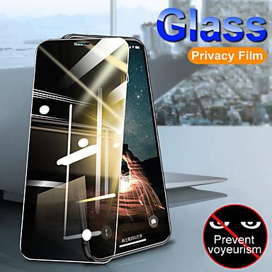 Недорогие Защитные плёнки для экрана iPhone-2шт защитная пленка для полного экрана для iphone 11/11 про / 11про макс / х / хс / хс макс / хр антишпион закаленное стекло для iphone se 2020 / 6plus / 6 / 7plus / 7 / 8plus / 8 уединенное стекло