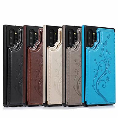 Недорогие Чехол Samsung-чехол для samsung galaxy s20 / s20 plus / s20 ultra / s10 / s10e / s10 plus / s9 / s9 plus / s8 / s8 plus / note 10 / note 10 pro / a70 / a51 / a71 держатель карты / противоударный / откидной корпус