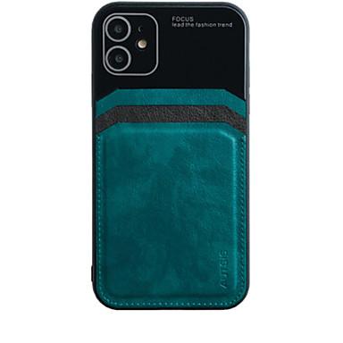 Недорогие Кейсы для iPhone-iphone11pro max объектив камеры все включено оболочка мобильного телефона XS Max кожаный шаблон бизнес анти-капля анти-отпечатков пальцев 6 7 8plus se 2020 защитный чехол
