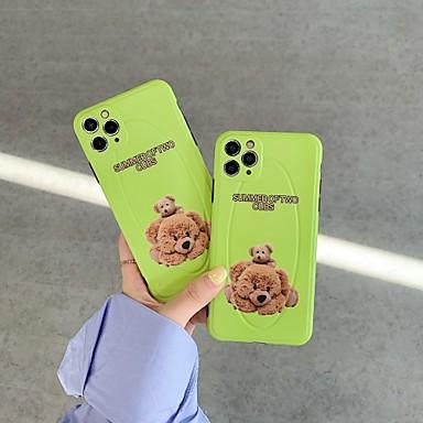 Недорогие Кейсы для iPhone-чехол для apple iphone 7 8 7plus 8plus x xr xs xsmax se (2020) iphone 11 11pro 11promax противоударный узор задняя крышка животное мультфильм тпу