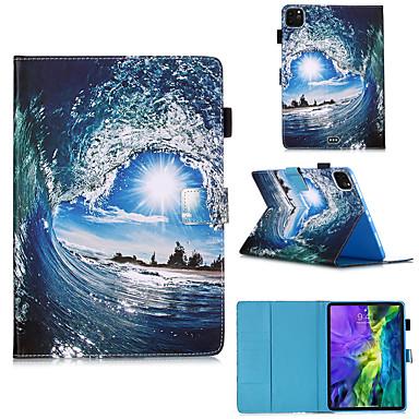 Недорогие Чехол Samsung-чехол для galaxy samsung tab a 8.0 (2019) t290 / 295 / samsung tab s6 t860 / 865 / samsung tab a8 (2019) p200 / 205 с подставкой / откидной крышкой / выкройкой для всего тела