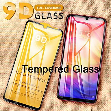Недорогие Защитные плёнки для экранов Xiaomi-защитная пленка для экрана xiaomi redmi note 7 / note8 / note9 / redmi7 / 8 / k20 / k30 9d изогнутая передняя защитная пленка 2 шт. / 3 шт. / 5 шт. закаленное стекло