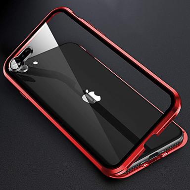 Недорогие Кейсы для iPhone-360 металлический магнитный чехол для телефона для iphone se 2020 11 11 pro 11pro max x xs xr xs max 8plus 7 plus 8 7 двусторонняя стеклянная крышка с защитными чехлами для объектива