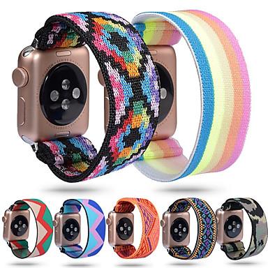 Недорогие Аксессуары для смарт-часов-ремешок для часов для Apple Watch серии 5/4/3/2/1 apple sport band нейлоновый ремешок на запястье