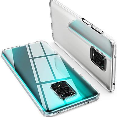 Недорогие Чехлы и кейсы для Xiaomi-Тонкая прозрачная мягкая крышка ТПУ поддерживает беспроводную зарядку для xiaomi redmi poco f2 pro x2 10x 10x pro k30i k30pro zoom note 9 9pro 9promax 9s 8t 8pro 8a k20 8a mi 10 10pro 10lite 9t cc9pro