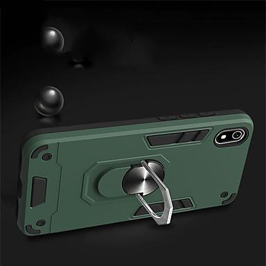 Недорогие Чехлы и кейсы для Xiaomi-магнитный палец подставка для телефона чехол для xiaomi note 10 9t cc9e pro redmi 9 10x k20 pro гибридная броня 2 в 1 тпу pc задняя крышка