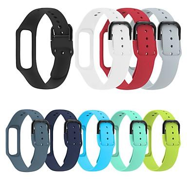 Недорогие Часы для Samsung-Ремешок для часов для Samsung Galaxy Fit E SM-R375 Samsung Galaxy Спортивный ремешок силиконовый Повязка на запястье