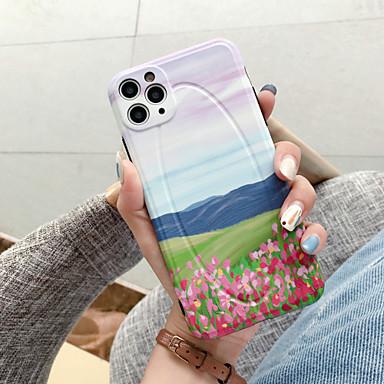 Недорогие Кейсы для iPhone-чехол для apple iphone 7 8 7plus 8plus x xr xs xsmax se (2020) iphone 11 11pro 11promax противоударный узор задняя крышка декорации мультфильм тпу