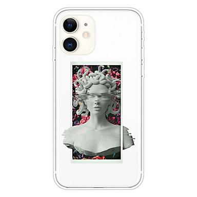 Недорогие Кейсы для iPhone-чехол для apple iphone 11 11 pro 11 pro max xs xr xs max 8 плюс 7 плюс 6s плюс 8 7 6 6s se 5 5s прозрачный рисунок задняя крышка medusa soft tpu